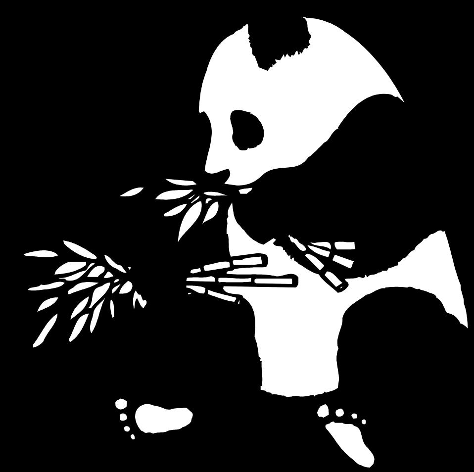 Panda Black And White Clipart Clipartfest Illustration Animal Illustration Art