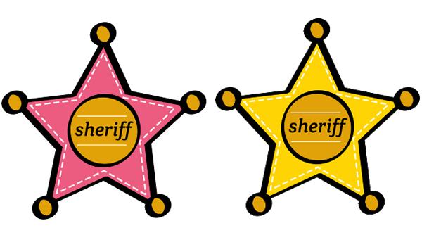 Estrellas de sheriff para imprimir | Proyectos que intentar ...