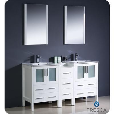 Fresca - Torino Meuble-lavabo de salle de bains moderne 60 ...