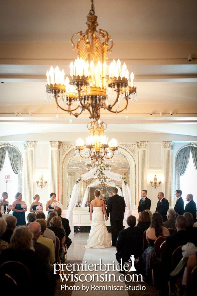Wedding Ceremony At The Astor Hotel Milwaukee WI