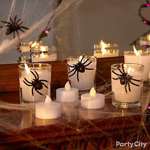 Spooky Spider Halloween Decorating Ideas Halloween Pinterest - spiders for halloween decorations