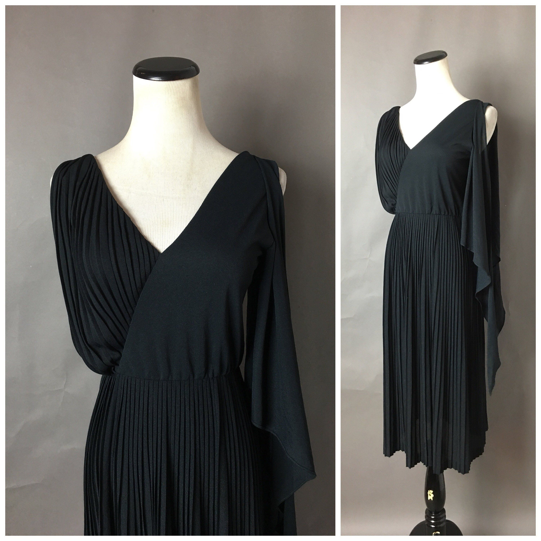 Vintage 70s Dress 1970s Dress Asymmetric Dress Lbd Cocktail Dress Party Dress Day Dress Black Dress 2694 Vintage Dress 70s 70s Dress Cocktail Dress Party [ 3000 x 3000 Pixel ]
