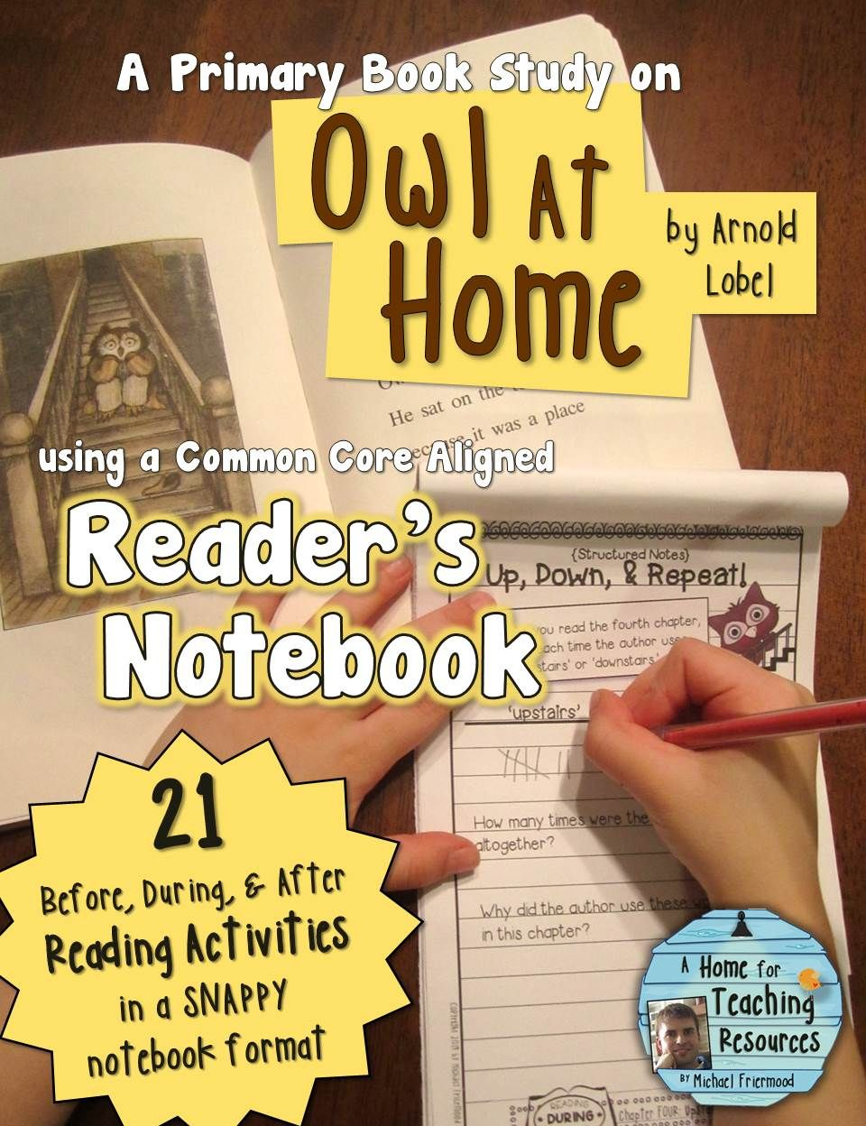Owl At Home A Book Study Book Study Childrens Books Activities Journeys First Grade