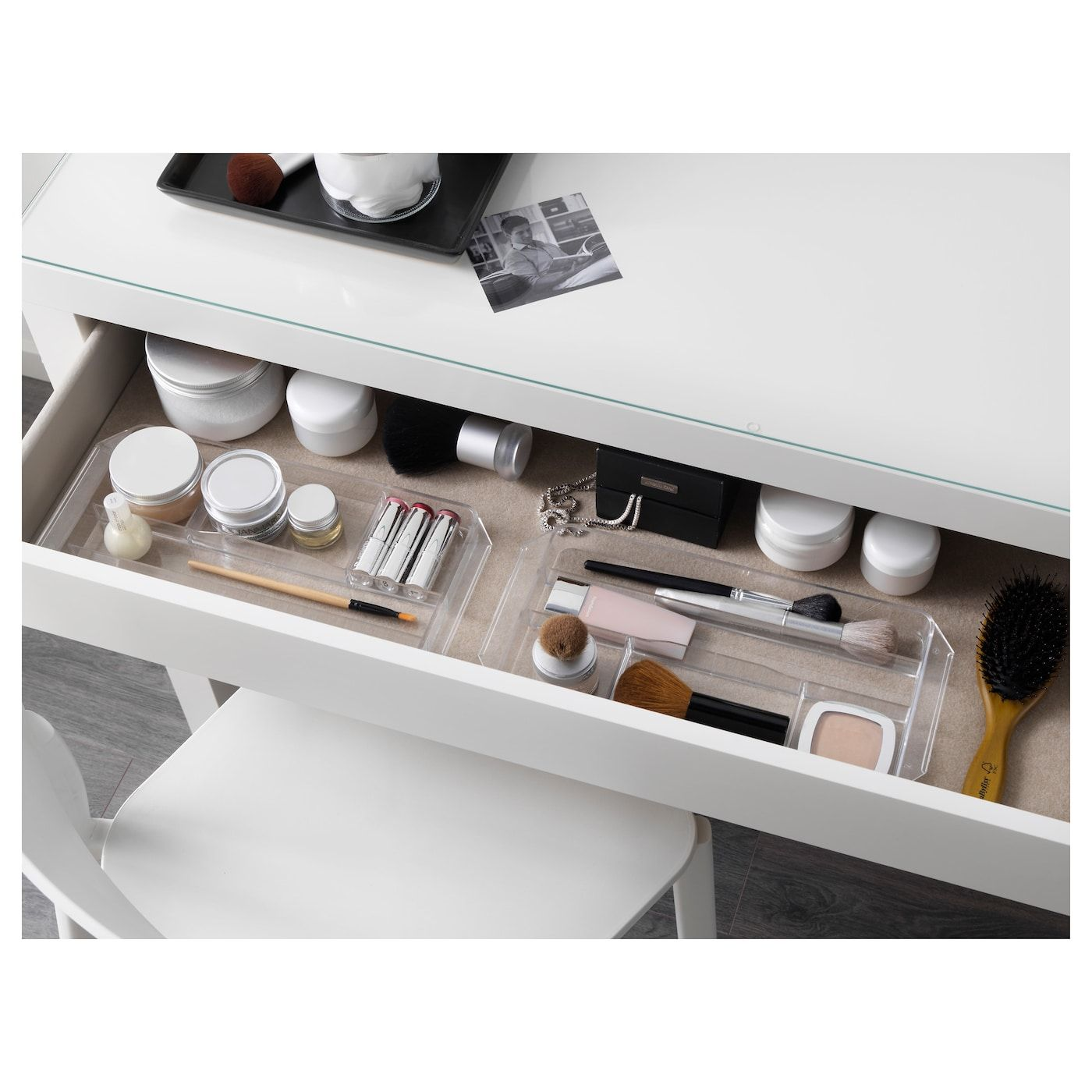 IKEA - MALM Dressing table white #schminktischideen