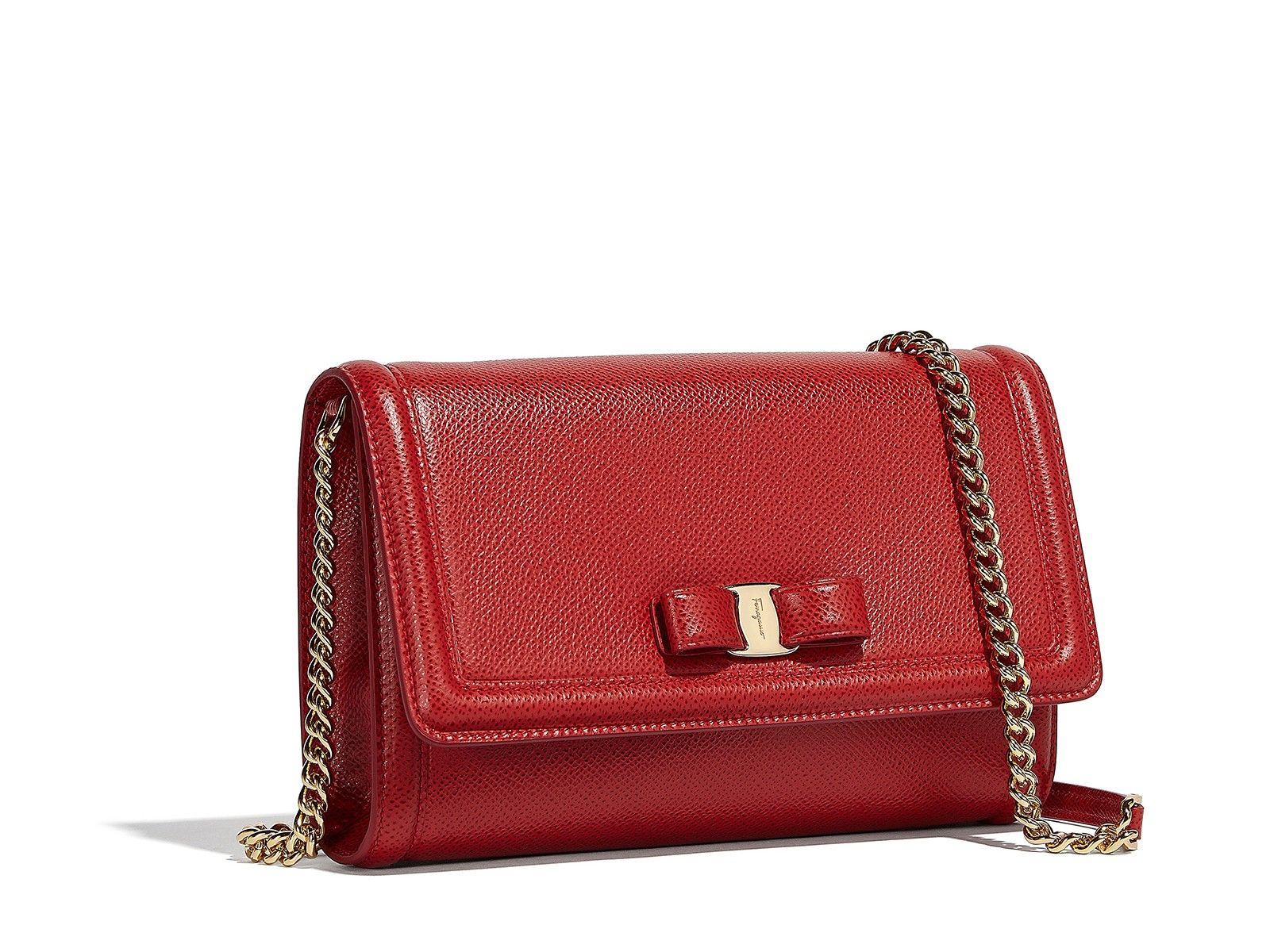 5a7e0411e8c3 SALVATORE FERRAGAMO Vara Bow Mini Bag.  salvatoreferragamo  bags ...