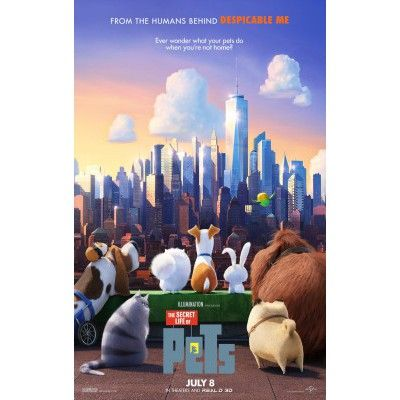 The Secret Life Of Pets Movie Poster 2 Pets Movie Secret Life Of Pets Pet 2016 Movie
