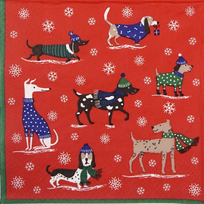 Rice Paper - Winter Time | Napkin Shop #papernapkins