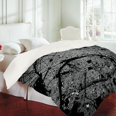 Modern Duvet Covers Tube Map