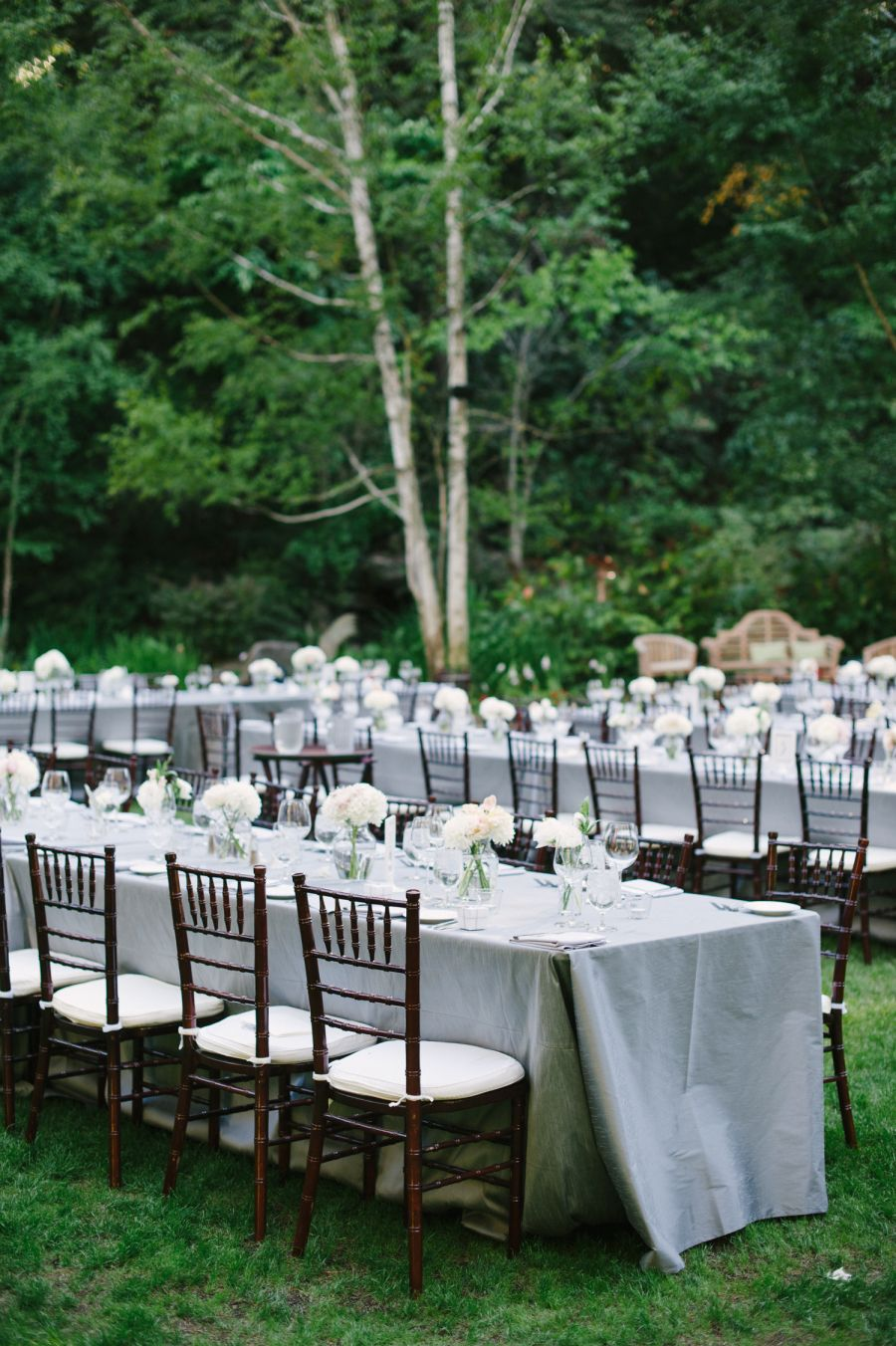 Classic Wedding among the trees at Nestldown Wedding