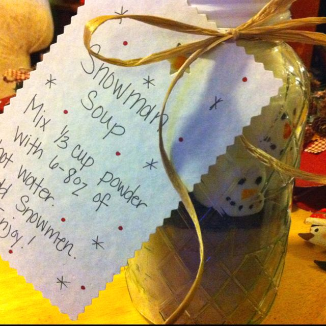 Cute Christmas idea. Perfect for teacher gifts.