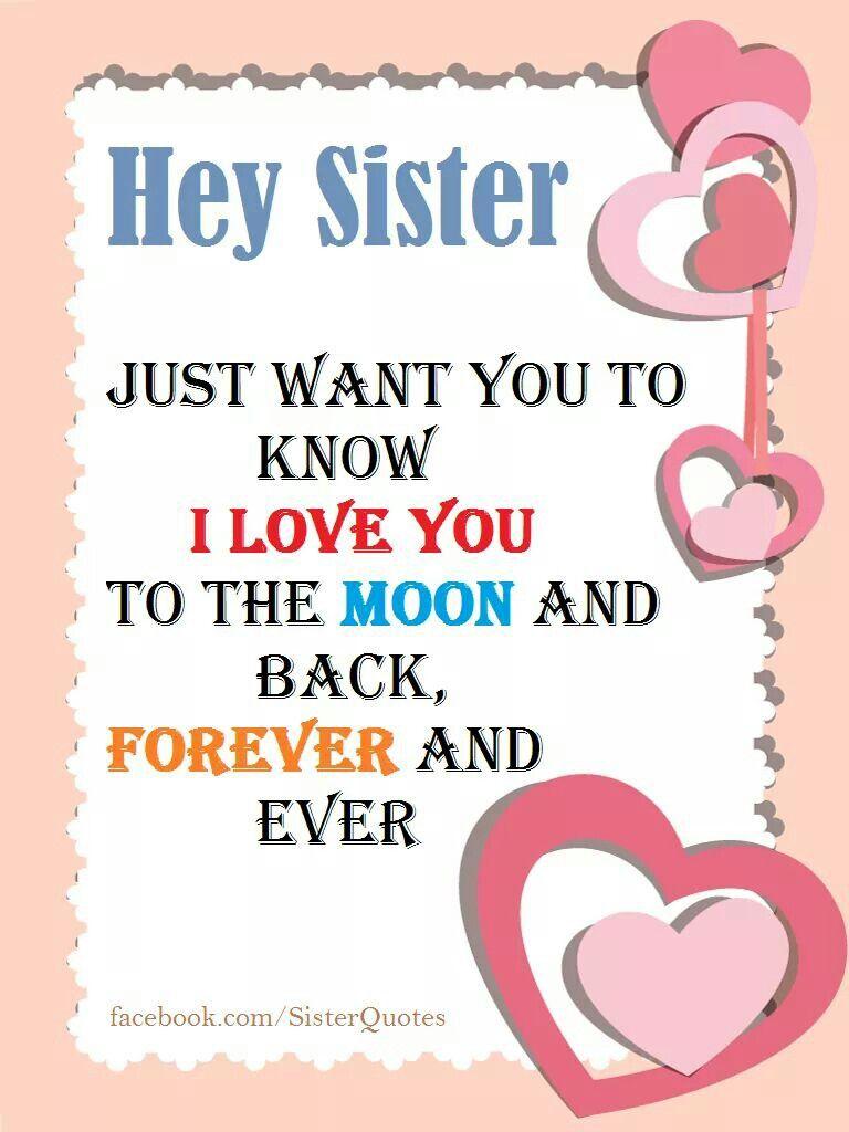 I Love You So Much Sisters Mensajes Felicitaciones De Cumpleanos Feliz Cumpleanos