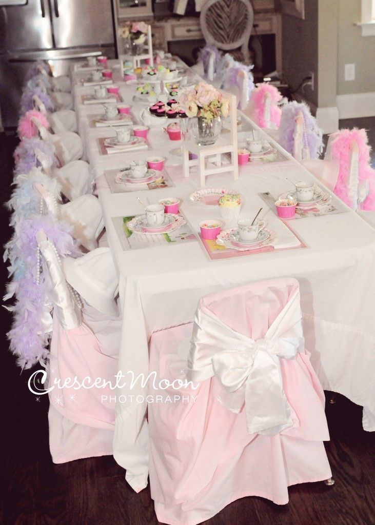 Tea party table setting teaparty party idea pinterest for Party table setting