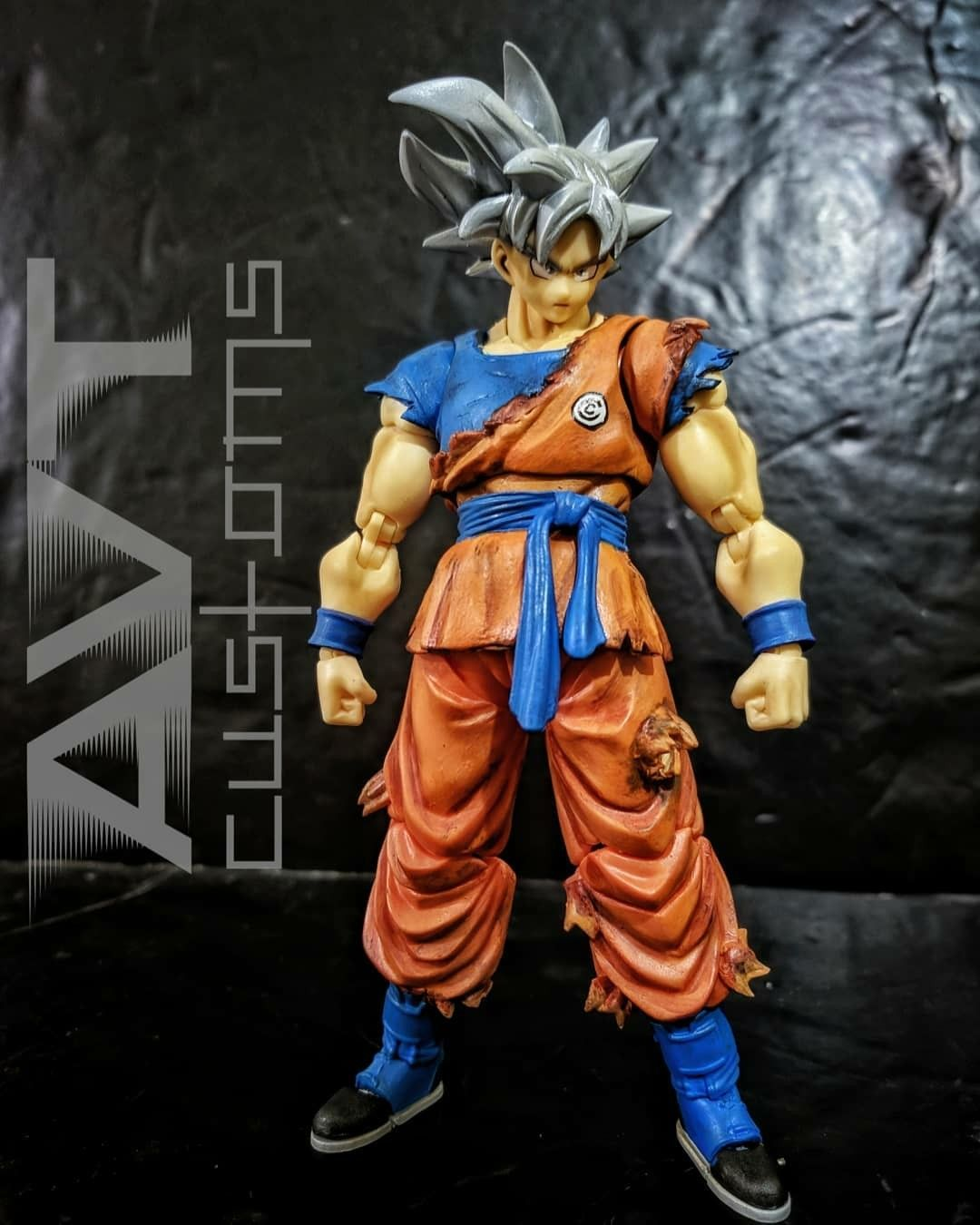 Custom Super Dragon Ball Heroes Mastered Ultra Instinct Dragon Ball Goku Dragon Ball Art Custom Action Figures
