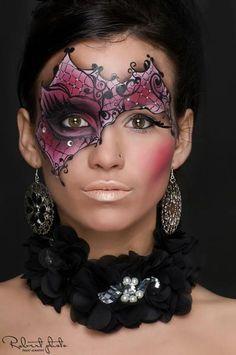 Halloween Fantasy Makeup Masquerade