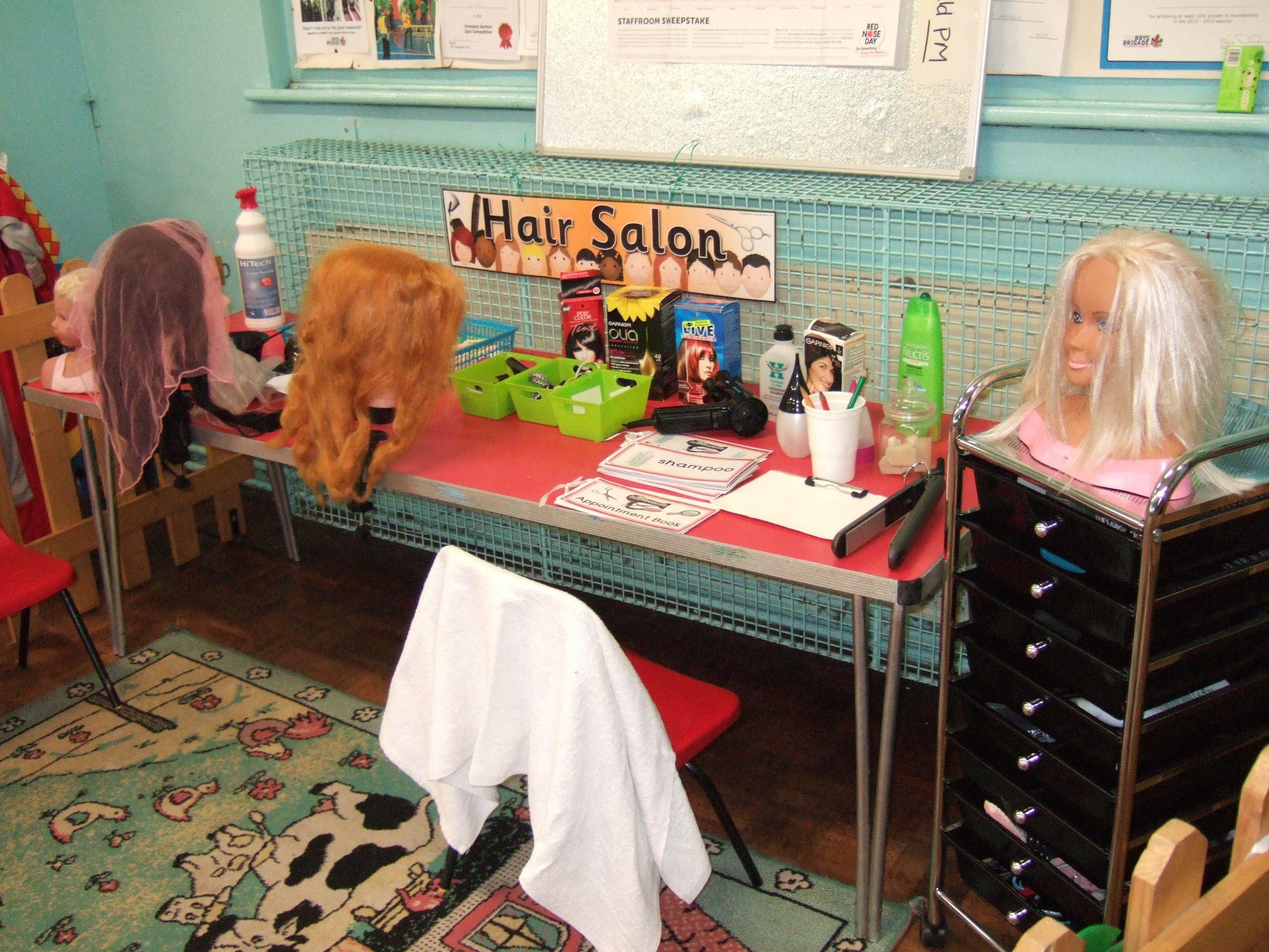 our hair salon | toddler crafts | Pinterest | Toilettenpapier und ...