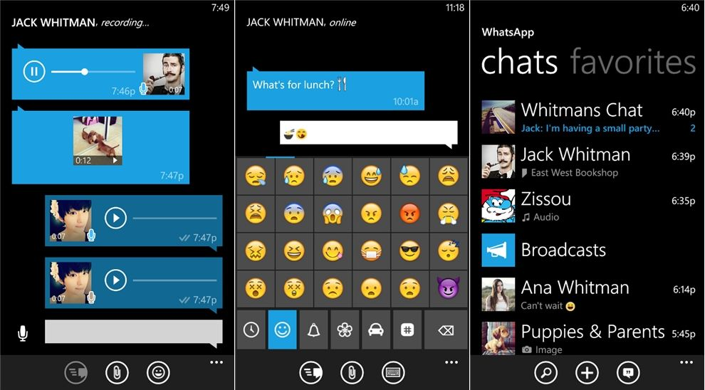 WhatsApp 2 11 670 Apk Free Download And Install On Windows Phone