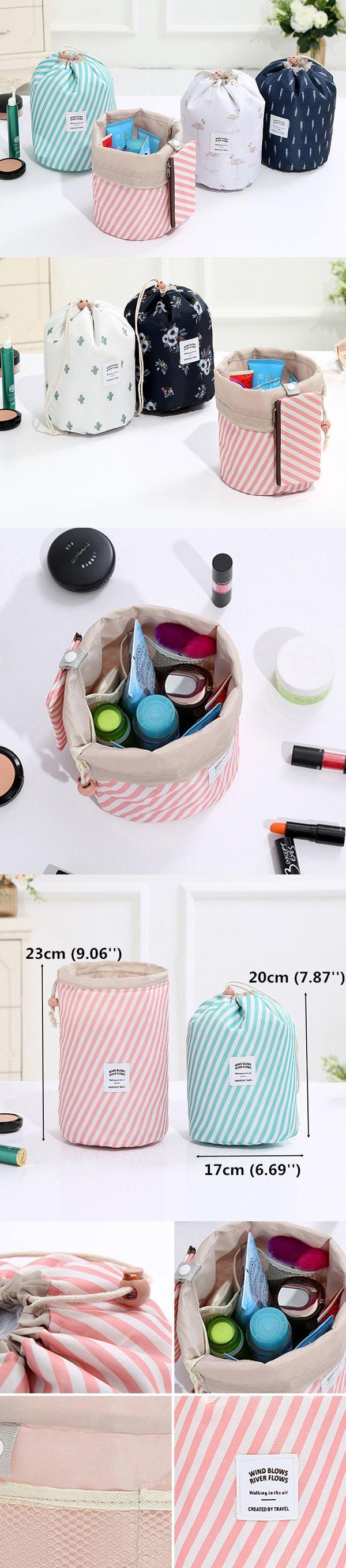 Woman Print Cosmetic Storage Kit Toiletry Kit Bathroom