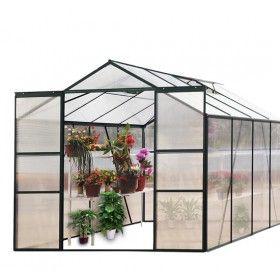 Invernadero 250x250x197 cm estructura de aluminio marco - Estructuras de aluminio para terrazas ...