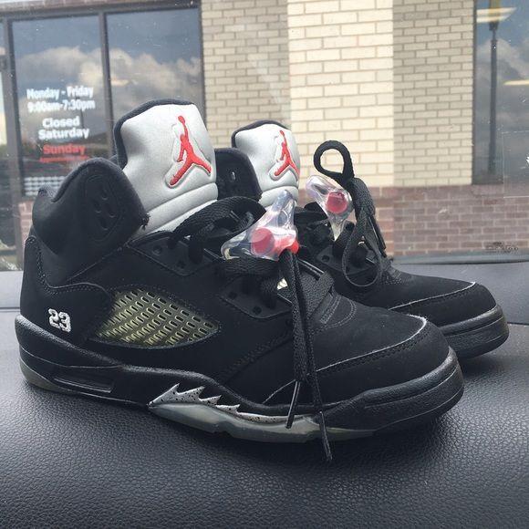 Metallic 5s   Jordan shoes, Shoes