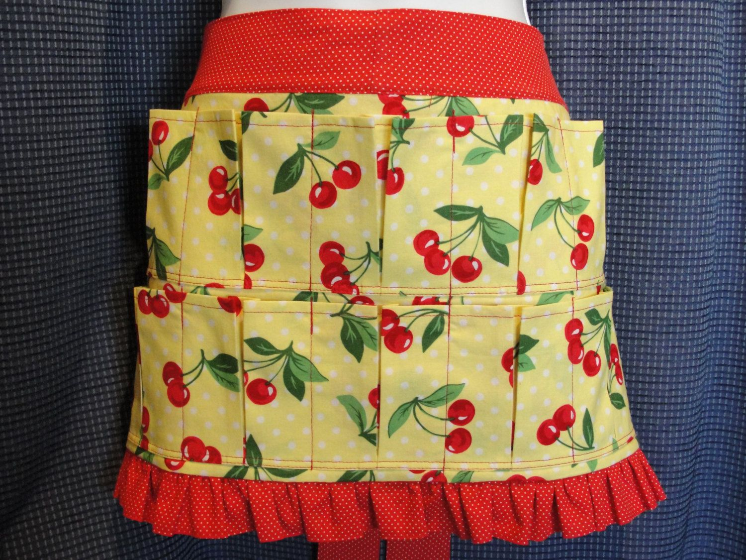 Child Youth Birds Egg Gathering or Collecting Apron Made in the USA!