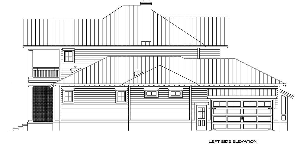 Plan 15096NC: Country Home with Spacious Front and Rear Porches