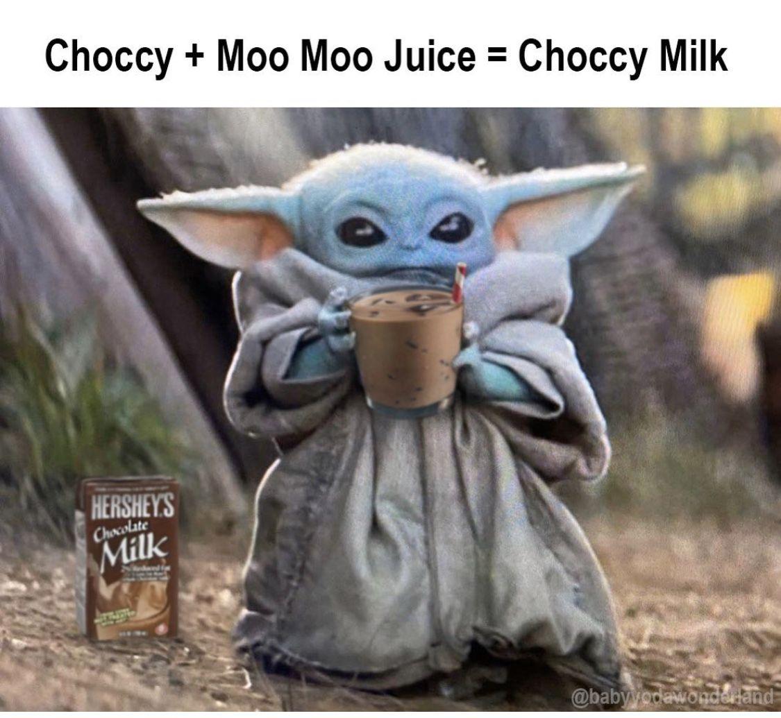 Choccy Milk Star Wars Characters Yoda Star Wars Characters Disney Star Wars
