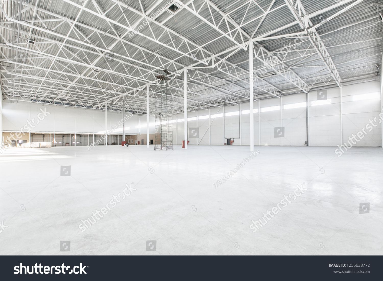 Interior Of Empty Warehouse Sponsored Affiliate Interior