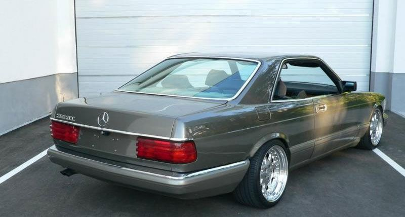 Mercedes Benz 500sec W126 On Brabus Monoblock Iii With Images