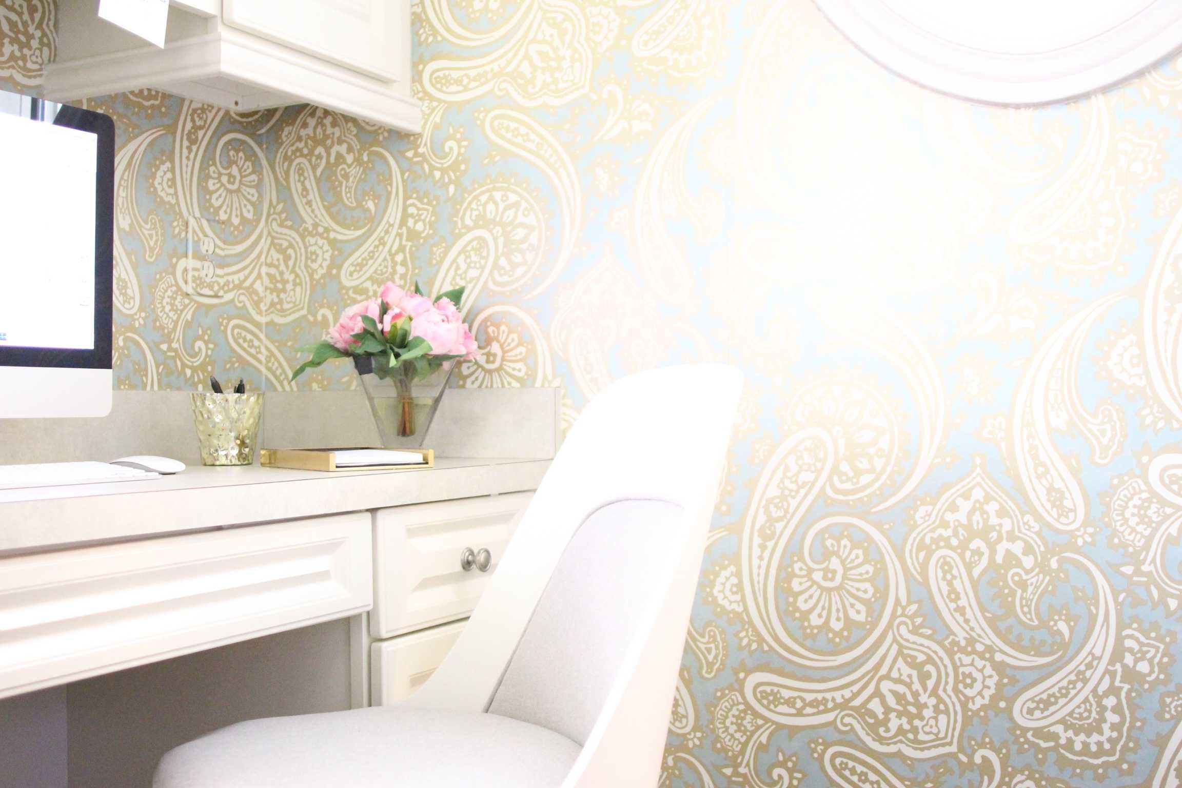 Peel And Stick Wallpaper Does It Work Home Decor Grey Wallpaper Peel And Stick Wallpaper