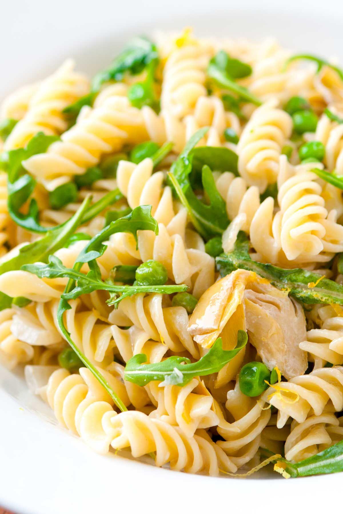 Goat Cheese And Artichoke Pasta Recipe Recipe Artichoke Recipes Artichoke Pasta Artichoke Recipes Pasta