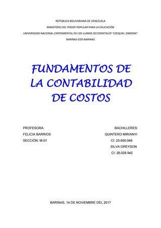 Antecedentes Historicos De La Contabilidad De Costos Contabilidad De Costos Contabilidad Contabilidad Y Finanzas