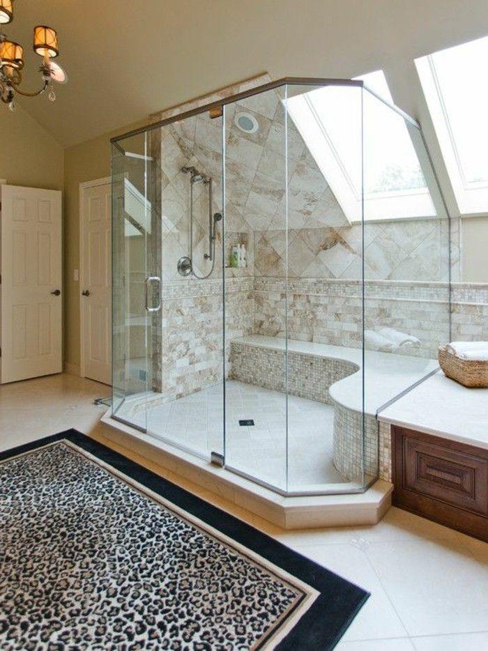 Schon Badezimmer Gestalten Gläserne Wände Unikale Ausstattung