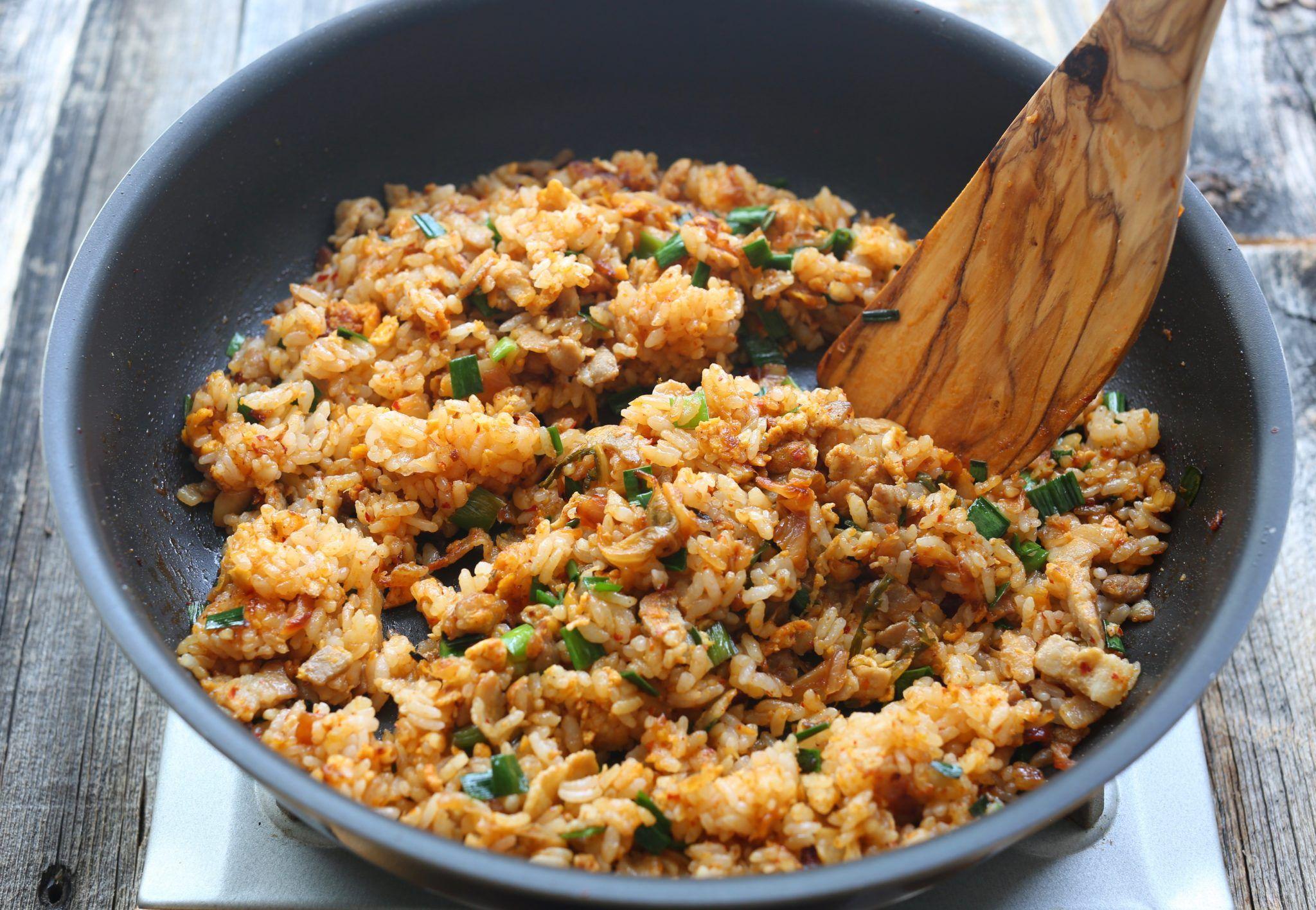 レシピ キムチ チャーハン