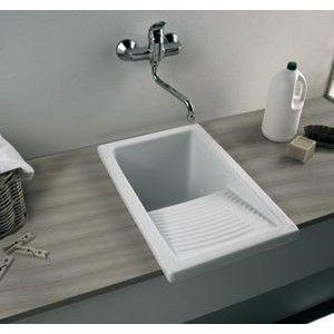 Small Laundry Ceramic Kitchen Sink: Zutux.com: Ceramic Sinks | Lavar ...