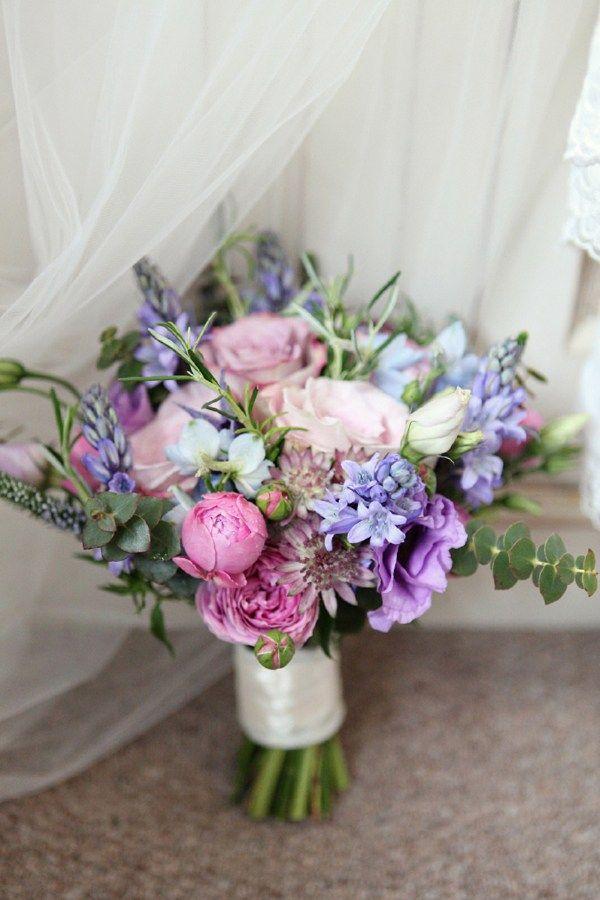An Elegant Village Fete Themed Wedding Flower Bouquet Wedding