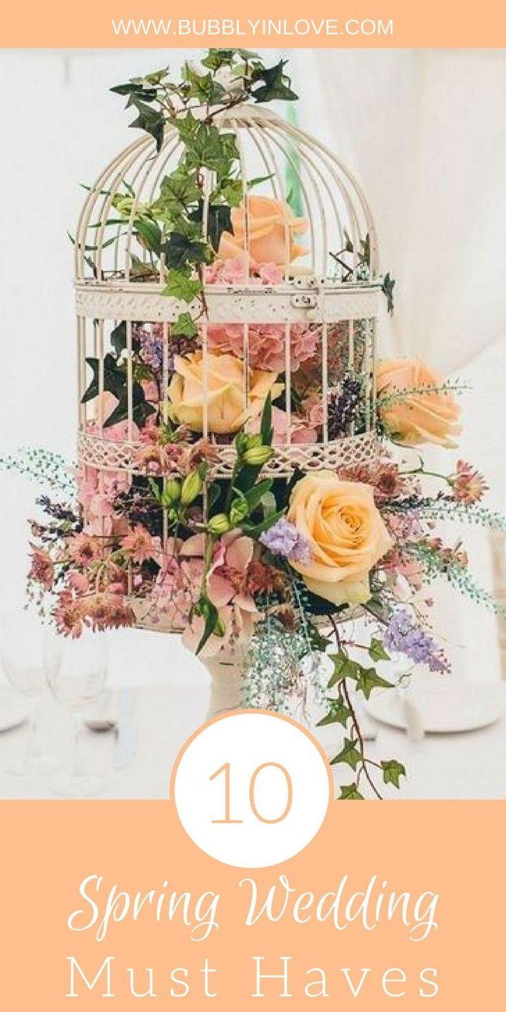 Wedding ideas spring  Spring Wedding Ideas  Hochzeitsdeko  Pinterest  Wedding Wedding