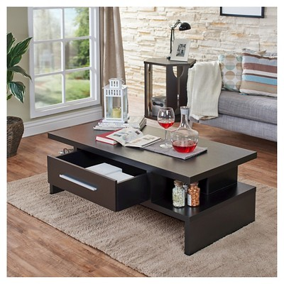 Tracie Unique Modern Coffee Table Black Iohomes Coffee Table Sofa End Tables Stylish Coffee Table