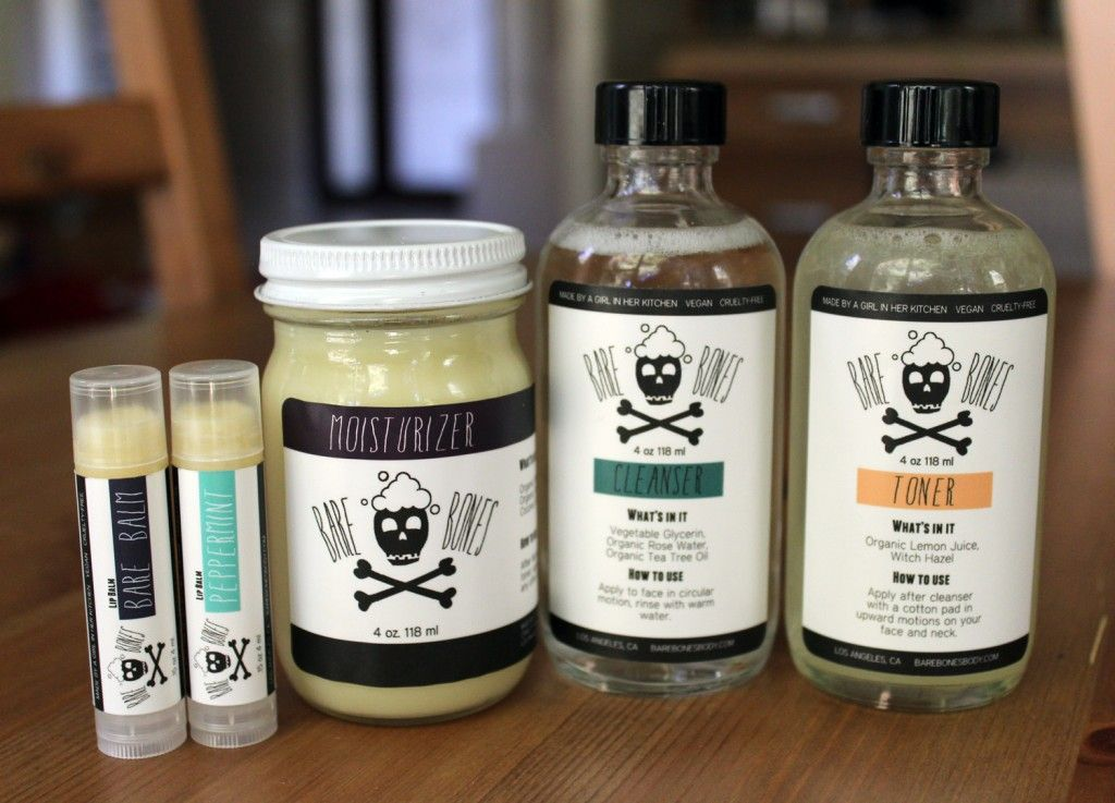 Bare Bones Body Care. Nothing has more than 4 ingredients! <3