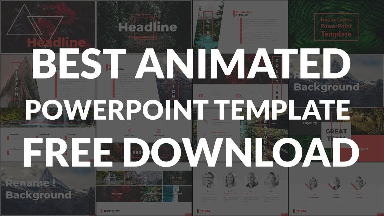 Animated Powerpoint Template Free Download 2019 Powerpoint Template Free Powerpoint Templates Templates Free Download