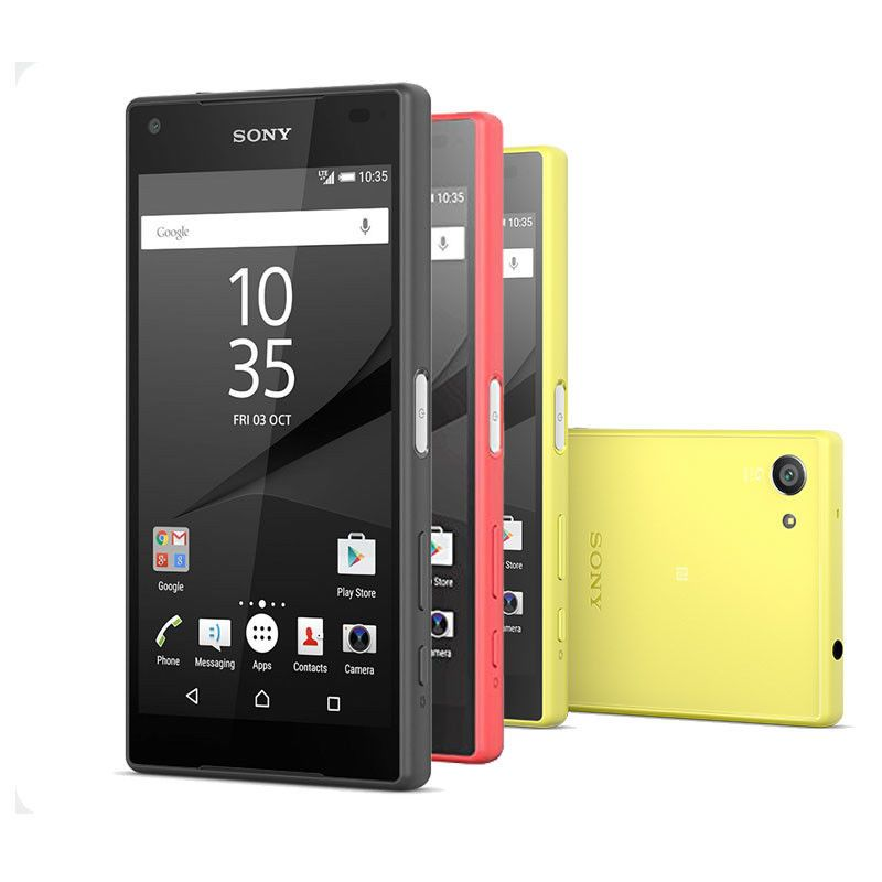 sony ericsson xperia z5 compact e5823 32gb gsm free 4g lte phone 4 colors phone. Black Bedroom Furniture Sets. Home Design Ideas