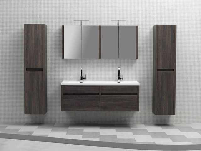 Wall Mounted Bathroom Cabinets Hung Vanities