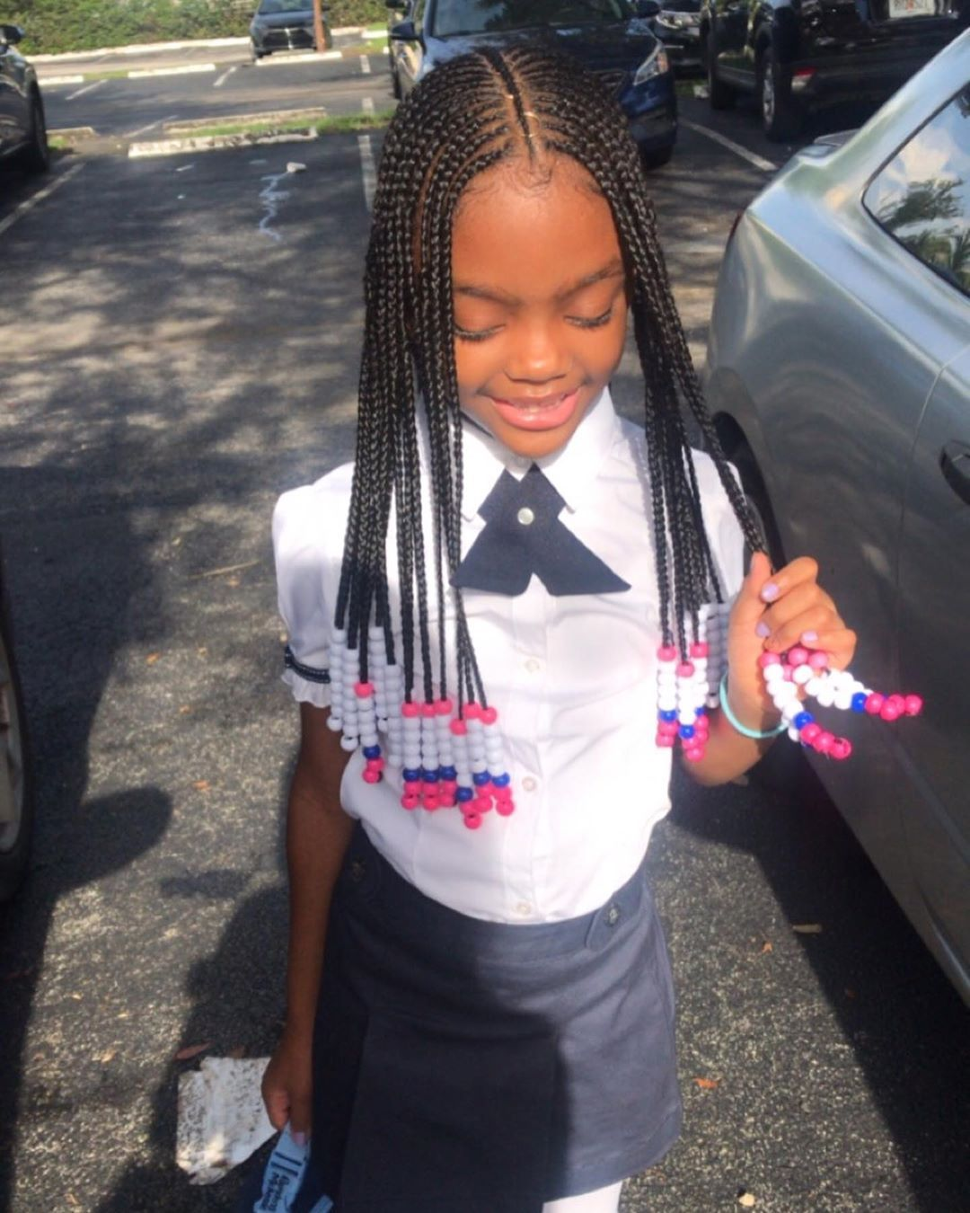 "@jai_labelleehair shared a photo on Instagram: ""My Goddess 🦋 Book your Princess's next appointment..... Link in bio! - - - - - #backtoschool #jlabellee #goddessbraids #kidsbraids…"" • Aug 14, 2019 at 2:00pm UTC"