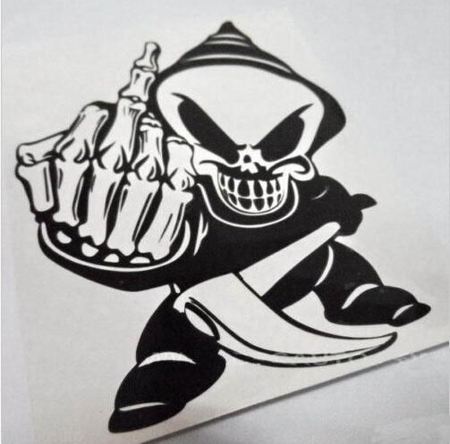 Car Truck Vinyl Decals Sticker Pirate Skull Skeleton Sword - Custom design car decals free