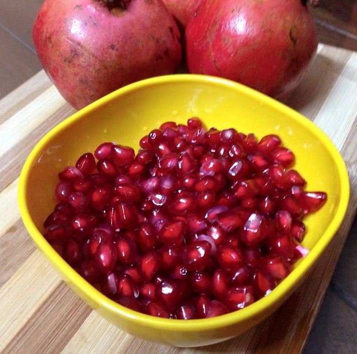How to deseed a pomegranate in one minute?