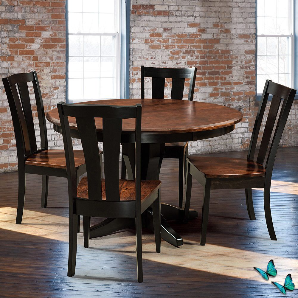 Relax And Feel At Home With This Amish Dining Table And Chairs