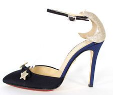 CHARLOTTE OLYMPIA $975 My Lucky Stars ASTRID Pumps 37.5