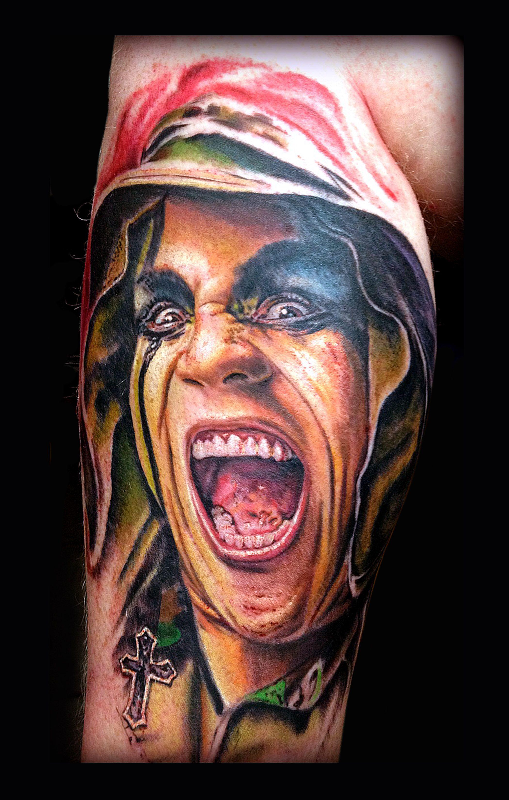 Watercolor tattoo artists in houston texas - Tattoo By Jp Roldan From Demon Ink Tattoo In Houston Texas