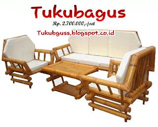 Kursi Soffa Dari Bambu 2 Model Terbaru