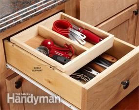 Organization Tips For Your Kitchen Deep Drawer Organization Drawer Organizers Kitchen Drawer Organization