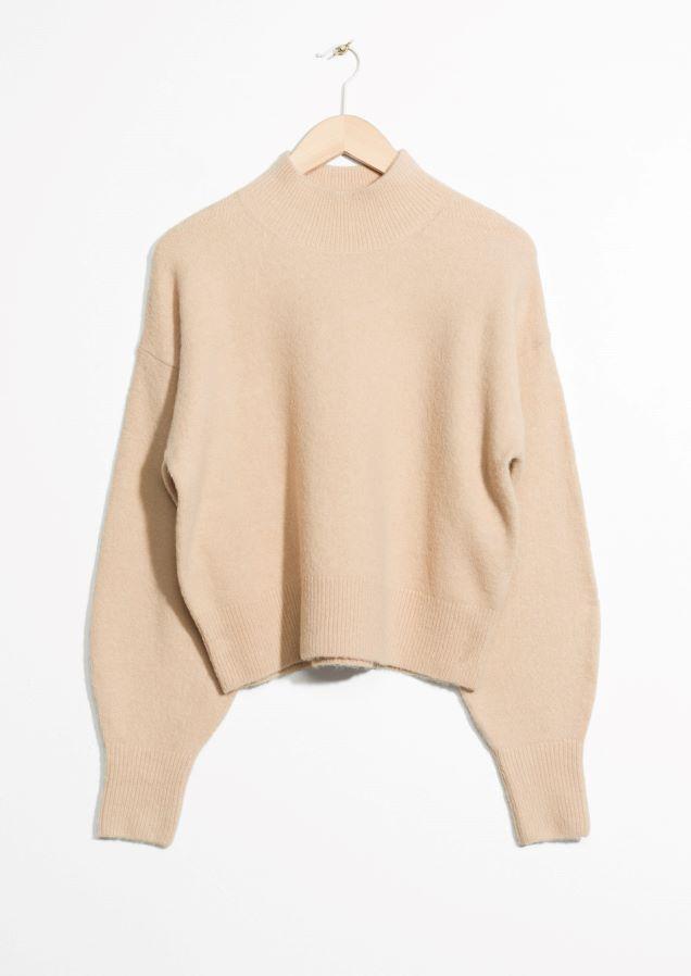 Other Stories Image 2 Of Wool Sweater In Beige Kledingkast
